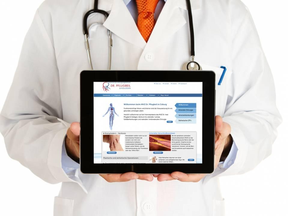 Website für Ärzte