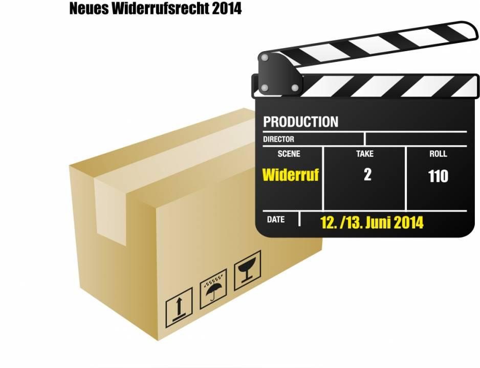 Änderung Widerrufsrecht 12. / 13. Juni 2014 Überblick