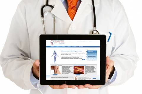 Website - Webauftritt für Ärzte