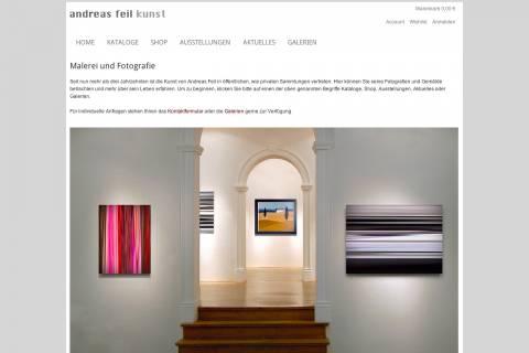 Foto v. Kunstgallerie in München mit moderner Kunst