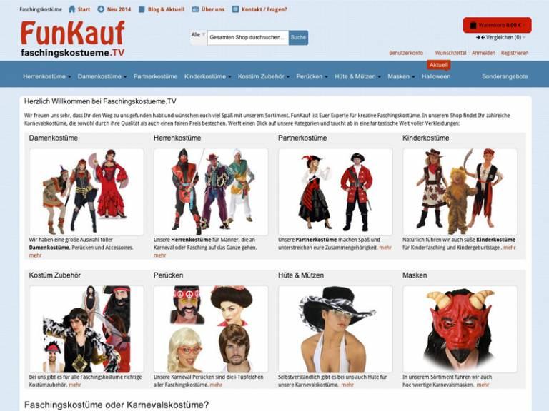 Voransicht Magento Online Shop Theme Design Anpassung